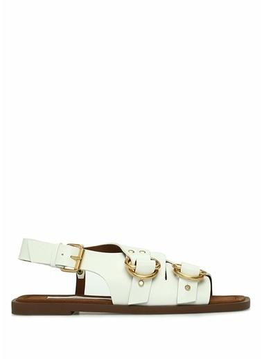 Stella McCartney Sandalet Beyaz